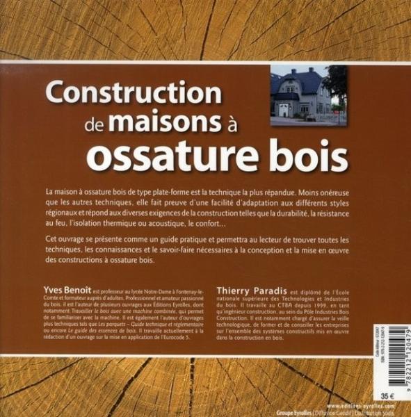 Livre construction maison ossature bois for Album photo construction maison