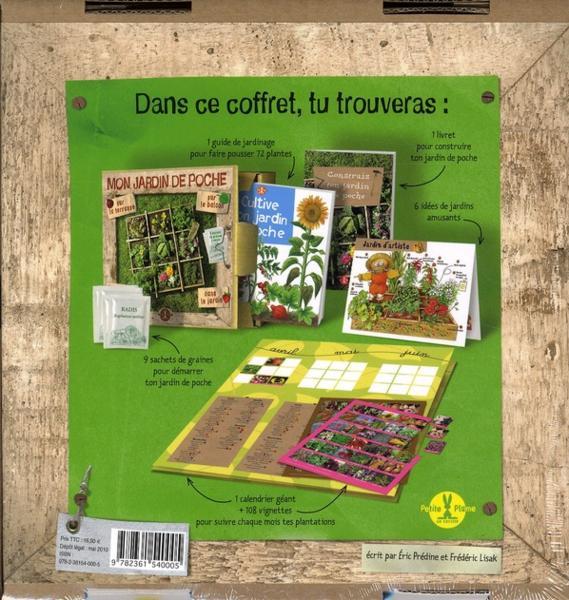 livre mon jardin de poche coffret ric pr dine crit par ric pr dine et fr d ric lisak. Black Bedroom Furniture Sets. Home Design Ideas