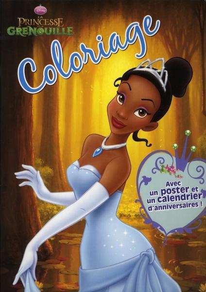 Livre coloriage la princesse et la grenouille delphine lacharron - Coloriage la princesse et la grenouille ...