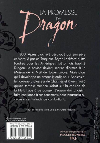 Livre la promesse de dragon la maison de la nuit - Lincroyable maison book tower londres ...