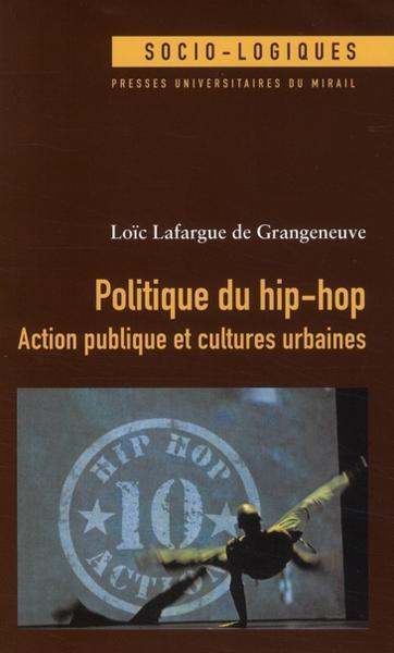 culture hip hop jeune cite et politique publique