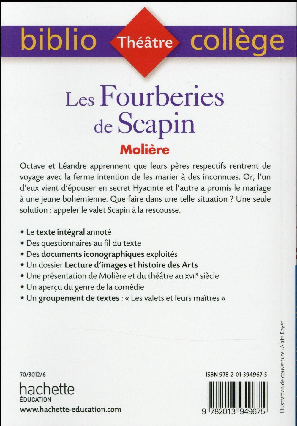 fourberies de scapin resume