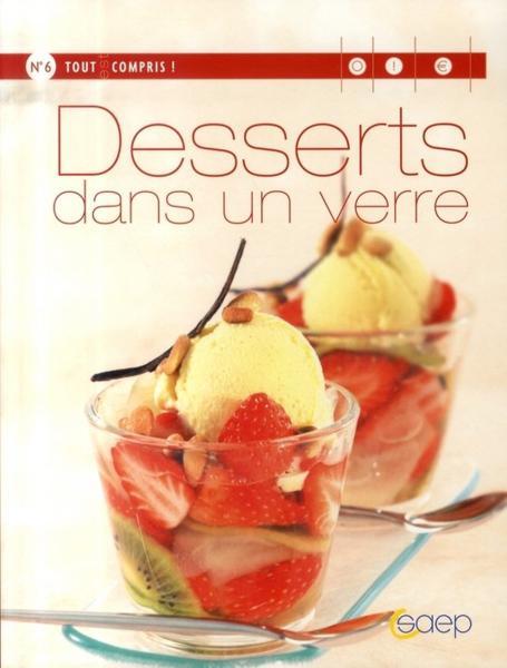 livre  desserts dans un verre  lisa mazières  acheter occasion