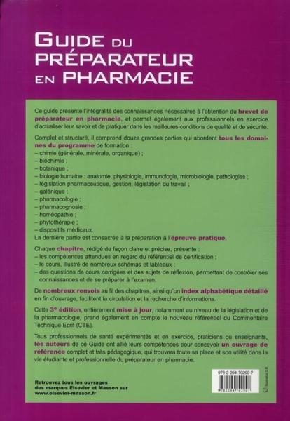 Chimie - Biologie 2005 BP - Préparateur en pharmacie ...