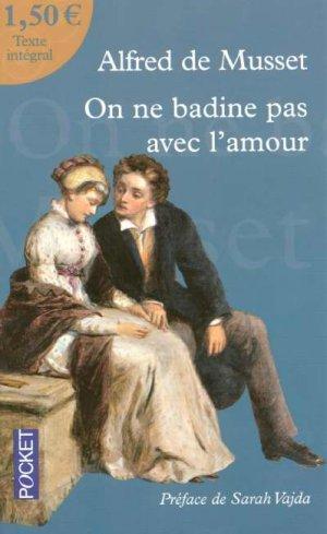 Alfred de Musset On ne badine pas avec l'amour - GRANDS ...