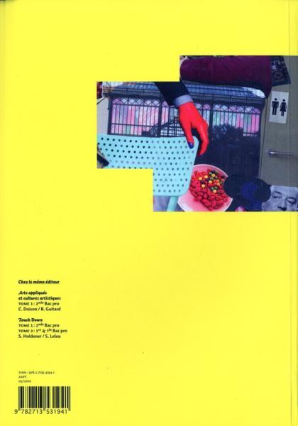 livre arts appliqu s et cultures artistiques bac pro 1 re et terminale manuel de l 39 l ve. Black Bedroom Furniture Sets. Home Design Ideas