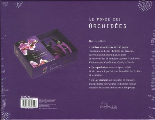 livre le monde des orchid es collectif. Black Bedroom Furniture Sets. Home Design Ideas