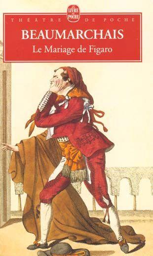 Livre le mariage de figaro pierre augustin caron de for Le livre de mariage
