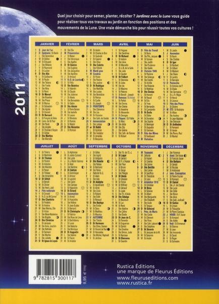 calendrier lune 2011