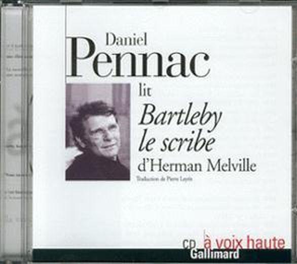 livre bartleby le scribe cd daniel pennac