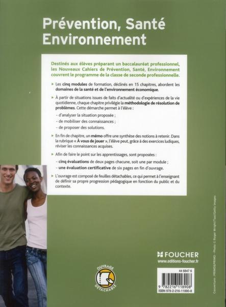 Livre pr vention sant environnement 2nde bac pro - Pse bac pro ...