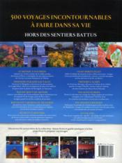 500 Voyages De Reves Hors - 4ème de couverture - Format classique