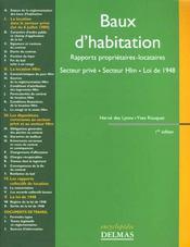 Baux D'Habitation