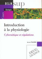 Introduction A La Physiologie