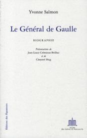 Le général de Gaulle - Couverture - Format classique