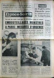 France Soir 8 Eme Edition du 04/09/1966