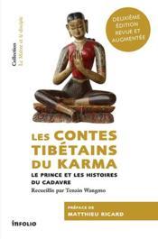 Les contes tibétains du karma - Couverture - Format classique