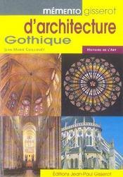 Memento Gisserot D'Architecture Gothique