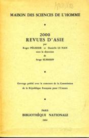 2000 revues d'Asie [répertoire bibliographique]