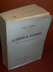 La région du bas Rhône: étude de géographie régionale.