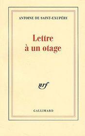 Lettre A Un Otage