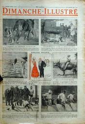 Dimanche Illustre N°256 du 22/01/1928 - Couverture - Format classique
