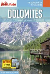 Guide Petit Fute ; Carnets De Voyage ; Dolomites - Couverture - Format classique