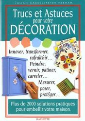 Livre trucs et astuces pour votre decoration julian cassel acheter occa - Trucs et astuces deco ...