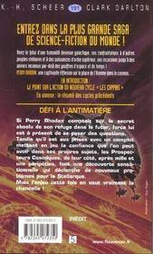 Perry Rhodan t.191 ; défi à l'antimatière - 4ème de couverture - Format classique
