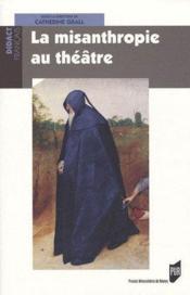 Misanthropie au theatre - Couverture - Format classique