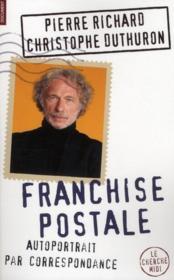 Franchise postale ; autoportrait par correspondance