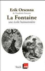 La Fontaine ; une école buissonnière - Couverture - Format classique