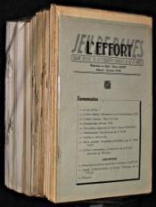 L'effort, jeu de dames, organe officiel de la fédération française du jeu de dames