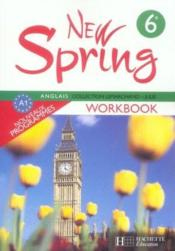 Anglais ; 6ème ; LV1 ; workbook (édition 2006)