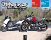 Revue Moto Technique N.181 ; Honda, Forza 125 ; Suzuki, V-Strom 1000 - Couverture - Format classique