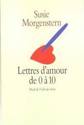 Lettres d'amour de 0 à 10 - Intérieur - Format classique