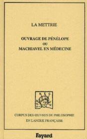 Ouvrage de penelope ou machiavel en medecine, 1750 - Couverture - Format classique