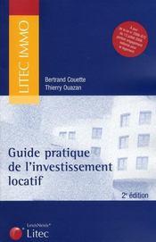 Guide pratique de l'investissement locatif (2e édition)