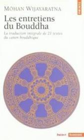 Les entretiens du Bouddha - Couverture - Format classique