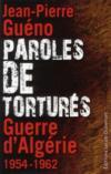 Livres - Paroles de torturés ; guerre d'Algérie 1954-1962