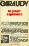 Livres - Le Projet Esperance