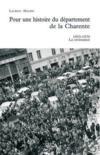Livres - Pour une histoire du département de la Charente ; 1950-1970 la croissance
