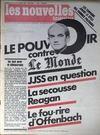 Presse - Nouvelles Litteraires (Les) N°2762 du 13/11/1980