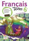 Livres - Terre Des Lettres ; Français ; 6ème ; Livre De L'Elève (Edition 2009)