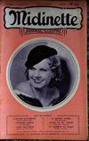 Presse - Midinette N°360 du 06/10/1933