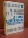 La France contemporaine: textes et documents...