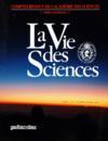 Presse - Vie Des Sciences (La) N°8 du 01/01/1991