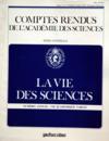 Presse - Vie Des Sciences (La) du 01/11/1985