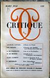 Presse - Critique N°130 du 01/03/1958