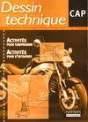 Livres - Dessin technique ; CAP ; pochette de l'élève (édition 2000)